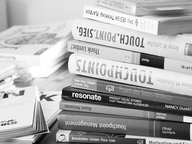 Literatur zu Customer Journey, Persona und Touchpoints