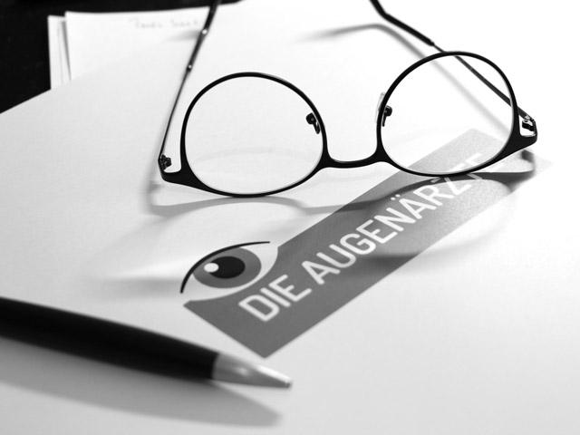 Logodesign für eine Augenarztpraxis
